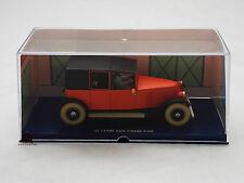Miniature En voiture Tintin Le Crabe aux pinces d'or TAXI ROUGE Moulinsart Car