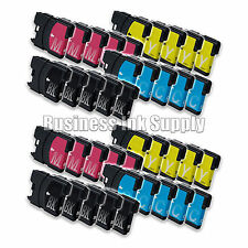 40 Pack NEW LC61 Ink Cartridges for brother printer LC61BK LC61C LC61M LC61Y