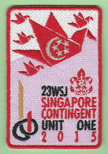 2015 world scout jamboree Japan / SINGAPORE Contingent UNIT 1  patch