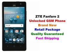 """NEW Unlocked GSM Cricket AT&T T-Mobile ZTE Fanfare 2 4G Android 6.0 4.5"""" 8GB 5MP"""
