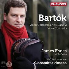 Bart¢k: Violin Concertos Nos. 1 and 2; Viola Concerto (CD, Aug-2011, Chandos)