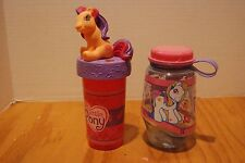 MY LITTLE PONY G3 TUMBLER CUP WATER SIPPER CUP Fluttershy Sunny Daze Pinky Pie