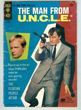 Man from U.N.C.L.E. #8 September 1966 VG Photo Cover