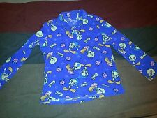 Women's Looney Tunes Tweety Bird Pajama Top Large (12-14) Warner Brothers