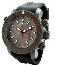 BARBOS BLACK DIVER IP TITAN CHRONOGRAPH 3300ft DIVER WATCH LIMITED.(US)