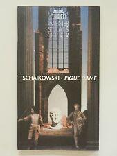 Wiener Staatsoper Tschaikowsi Pique Dame Programmheft
