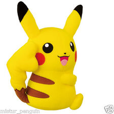 "Pokemon GO PIKACHU FEMALE 10"" Super DX Plush Doll Toy Plushie XY UFO Banpresto"