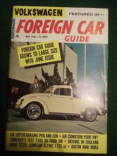 1966 Volkswagen Foreign Car Guide May issue VW Supercharging