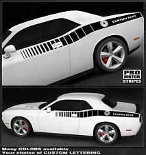 Dodge Challenger Reverse Strobe Side Stripes 2011 2012 2013 2014 *** 2008-2010