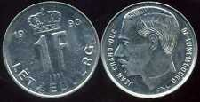 LUXEMBOURG  1 franc  1990   ( bis )