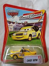Disney Pixar Cars CHIEF RPM #77  Series 4 (Race O Rama) 1:55 Diecast