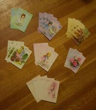 Vintage Set Parisienne Gift & Thank You Cards 22 Notes Stationery Baby Wedding
