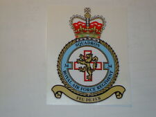 """2 X ROYAL AIRFORCE 34 SQUADRON STICKERS  4"""" BRITISH ARMY USA  MILITARY INSIGNIA"""