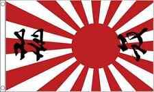 Sol Levante Giappone Sole con scrittura 0.9m x2ft (90cm x 60cm) Bandiera