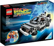 LEGO 21103 The DeLorean Time Machine - Ideas CUUSOO Back to Future Car RARE NEW