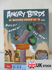New Angry Birds Western Round-Up Board Game Play Set UK SELLER FAST DELIVERY