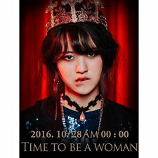 NC.A-[TIME TO BE A WOMAN] 1st Album CD+Foto Buch K-POP Sealed