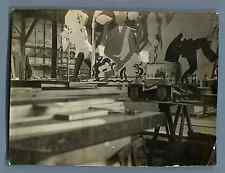 France, Paris, Salon des Arts Ménagers   Vintage silver print.  Tirage argenti