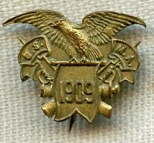 Rare, Early (1909) USMA West Point Lapel Pin