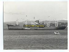 "La937 - Japanese Cargo Ship - Suez Maru , built 1954 - photo 8.5"" x 7.5"""