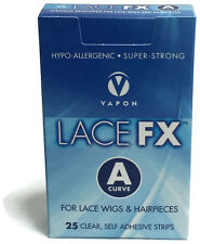 VAPON LACE FX A Tape for Wig, Toupee & Hair System - 25 strips