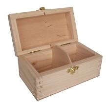 Pine wood 2 compartment e-cig liquid display box DD129 gift present smoking