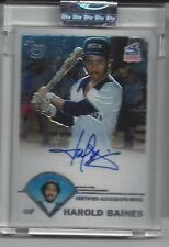 Harold Baines 2003 Topps Retired Signature Card White Sox Auto Uncirculated