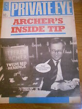 PRIVATE EYE MAGAZINE NUMBER 850 JUL 94 JEFFREY ARCHER INSIDE TIP 12 RED HERRINGS