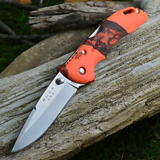 Buck Bantam BLW Mossy Oak Orange Blaze Camo Folding Knife 285CMS9