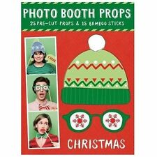 Holiday Photobooth Props, Galison, Very Good Book