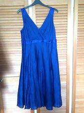 Kalico Dress Cobalt / Purple Violet Blue Size 18 Bnwt