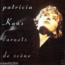 CD audio.../...PATRICIA KAAS.../...CARNETS DE SCENE.../...