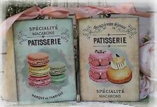 "~ A set of Two ""Patisserie""~Shabby Chic~Country Cottage style~Wall Decor Sign ~"