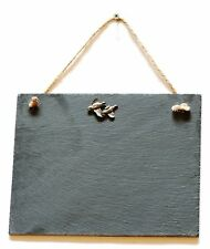 Partridge Slate Chalk Notice Board  Messages,Tally Charts Game Shooting Gift