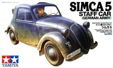 TAMIYA 1:35 KIT SIMCA 5 AUTOMOBILE AZIENDALE STAFF CAR ESERCITO TED  ART 35321