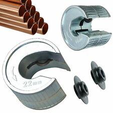 Tube Pipe Slice Rotary Auto Cutter 15 & 22mm Pipe Blades Pipeslice Copper Pipes