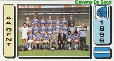 114 EQUIPE TEAM ELFTAL BELGIQUE A.A. GENT STICKER FOOTBALL 1983 PANINI