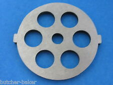 "Meat Grinder plate disc die for electric Waring Pro & Oster w/ 1/2"" Course Grind"
