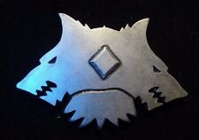40k Space Wolf Erik Morkai's company badge pin