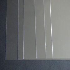 5 x A3 stencil sheets, clear pvc 220 micron stencil film sheet, reusable stencil