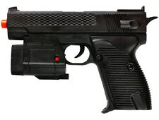 Dark Ops Airsoft M210AF Spring Pistol Tactical Airsoft Gun w/ Laser and Light