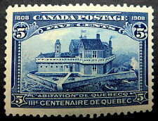 """CANADA #99 MINT SUPERB CENTERED UNLISTED MAJOR RE-ENTRY THROUGH """"POSTAGE/FIVE CE"""