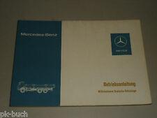 Betriebsanleitung Handbuch Mercedes Benz LKW M3 mit OM 401 402, Stand 07/1977