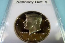 "2005-S   KENNEDY  ""S-PROOF""  HALF  DOLLAR, San Francisco Mint in Display Case"