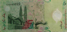 RM5 Zeti sign First Prefix Note CA 8663399