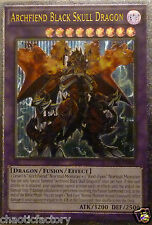 YUGIOH Ultimate Rare  Archfiend Black Skull Dragon - CORE-EN048 1st edition