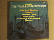 OFFENBACH THE TALES OF HOFFMAN 3LP BOX SET LONDON 30 7453 CLASSICAL OPERA NM-