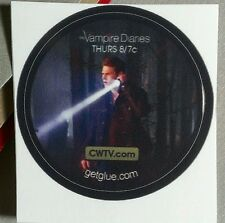 VAMPIRE DIARIES MATT ZACH ROERIG NIGHT FLASHLIGHT WOODS GET GLUE STICKER