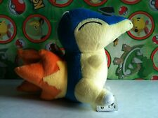 Pokemon Plush Cyndaquil Banpresto UFO doll legit stuffed animal toy figure