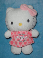 Sanrio My First Hello Kitty Plush Doll Rattle Angel Wings Stuffed Baby Toy 8""